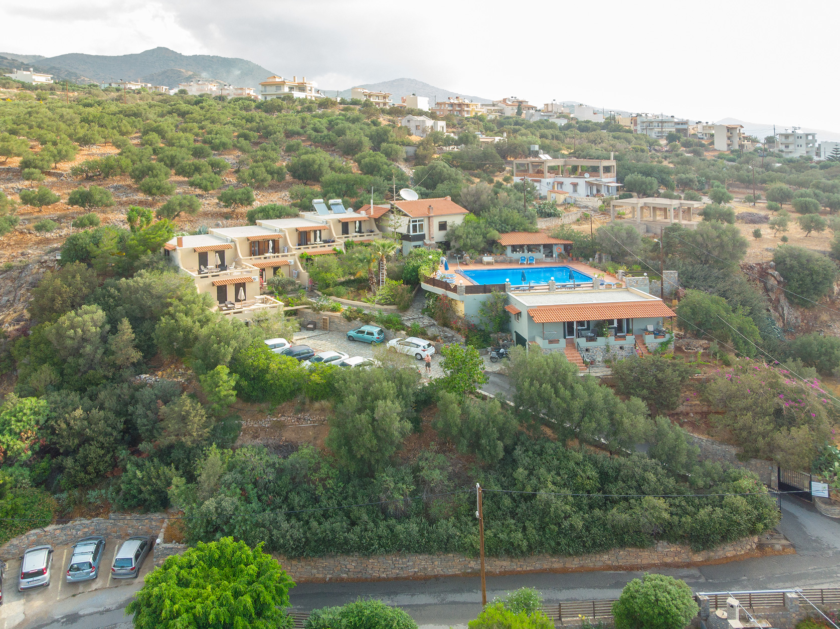 Agios Nikolaos Crete Apartments - Overview 3 - Villa Galini